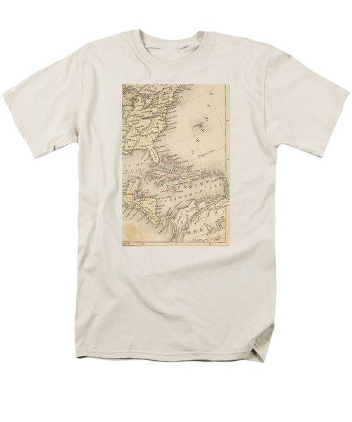 Map Men's T-Shirt  (Regular Fit) by Sample