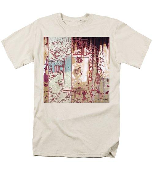 Maps #27 Men's T-Shirt  (Regular Fit) by Joan Ladendorf