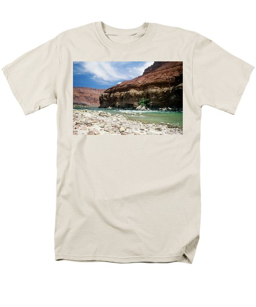 Marble Canyon Men's T-Shirt  (Regular Fit) by Kathy McClure
