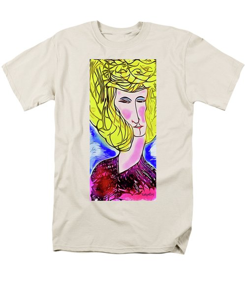 Maria Men's T-Shirt  (Regular Fit) by Ted Azriel
