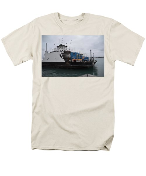 Marine City Mich Car Truck Ferry Men's T-Shirt  (Regular Fit) by Randy J Heath