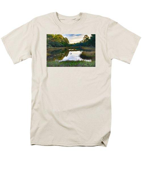 Marsh In The Morning Men's T-Shirt  (Regular Fit) by Patricia Schaefer