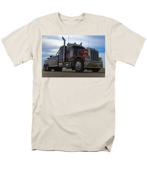 Marvins Big Rig Cars Movie Tribute Tow Truck Men's T-Shirt  (Regular Fit) by Tim McCullough