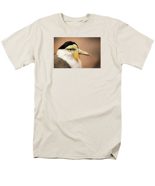Masked Lapwing Men's T-Shirt  (Regular Fit) by Don Johnson