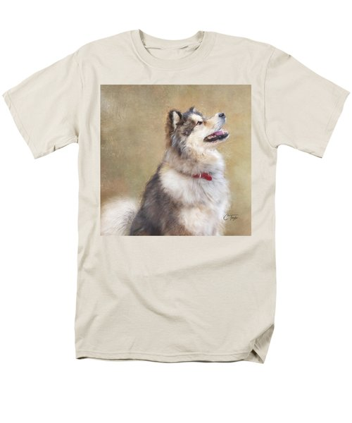 Men's T-Shirt  (Regular Fit) featuring the painting Master Of The Domain II by Colleen Taylor