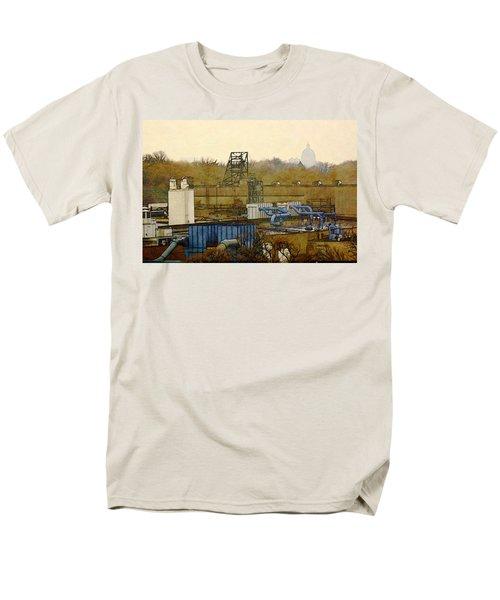 Maynard Steel Men's T-Shirt  (Regular Fit) by David Blank
