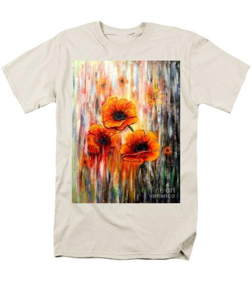 Melting Flowers Men's T-Shirt  (Regular Fit)