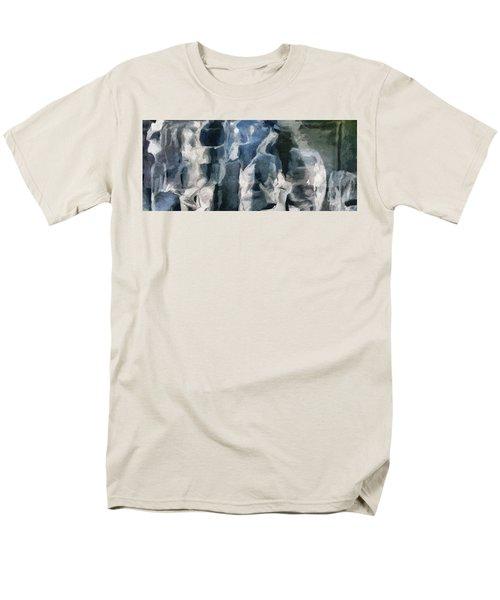 Memory Hotel - Dark Canvas Abstract Art Men's T-Shirt  (Regular Fit) by Modern Art Prints