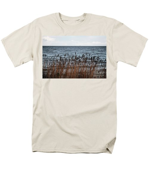 Metallic Sea Men's T-Shirt  (Regular Fit) by Ana Mireles