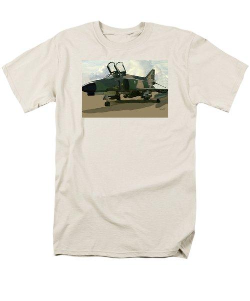 Men's T-Shirt  (Regular Fit) featuring the digital art Mig Killer by Walter Chamberlain