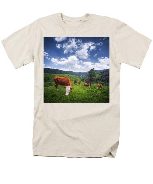 Men's T-Shirt  (Regular Fit) featuring the photograph Milka by Bess Hamiti