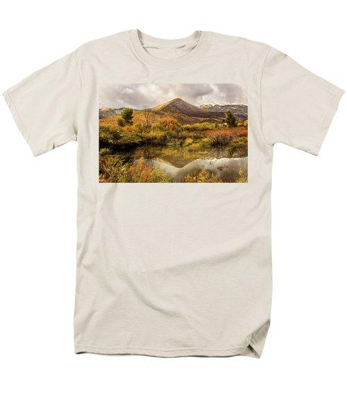 Mill Canyon Peak Reflections Men's T-Shirt  (Regular Fit)