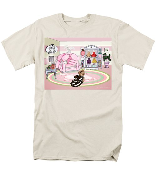 Millie Larue's French Room Men's T-Shirt  (Regular Fit) by Catia Cho