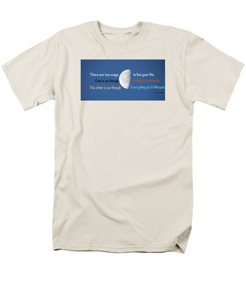 Men's T-Shirt  (Regular Fit) featuring the photograph Miracles by David Norman