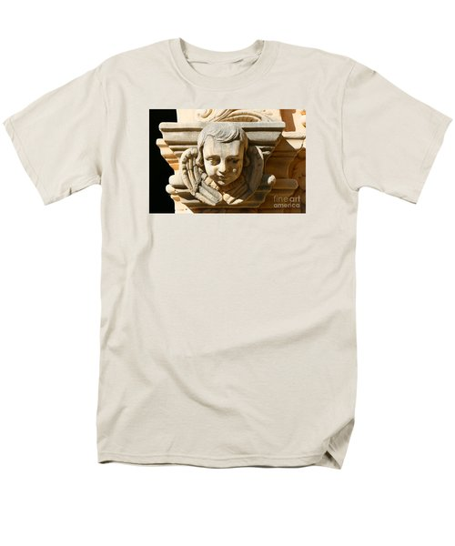 Men's T-Shirt  (Regular Fit) featuring the photograph Mission San Jose Angel by Jeanette French