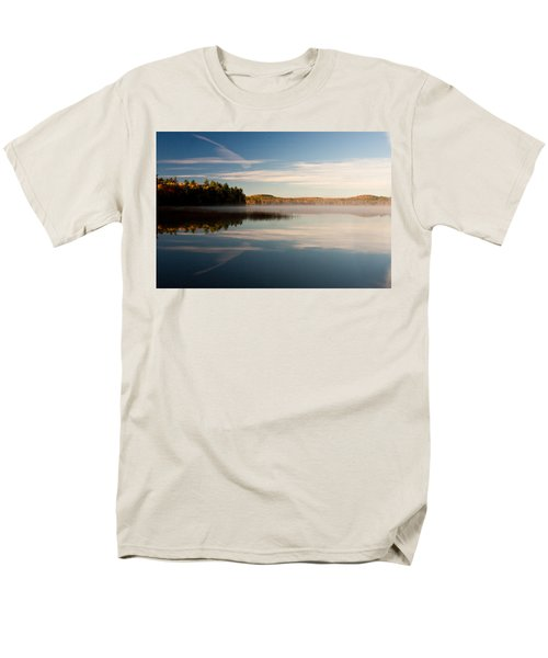 Men's T-Shirt  (Regular Fit) featuring the photograph Misty Morning by Brent L Ander