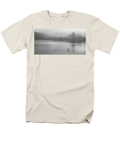Misty Morning On The Lake Men's T-Shirt  (Regular Fit) by Linsey Williams