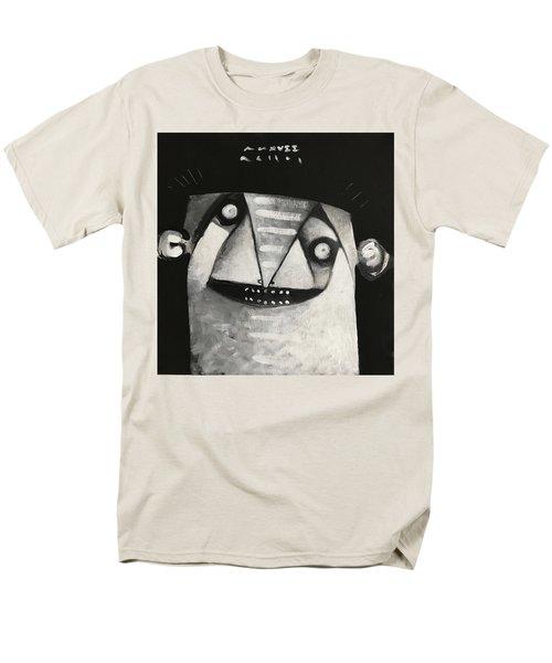 Mmxvii Masks For Despair No 3  Men's T-Shirt  (Regular Fit)