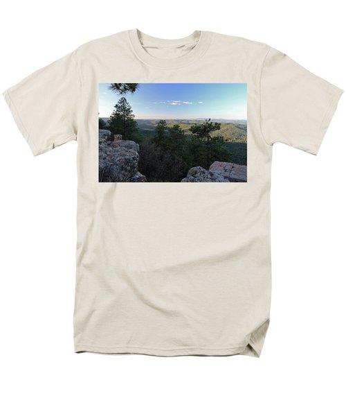 Mogollon Morning Men's T-Shirt  (Regular Fit) by Gary Kaylor