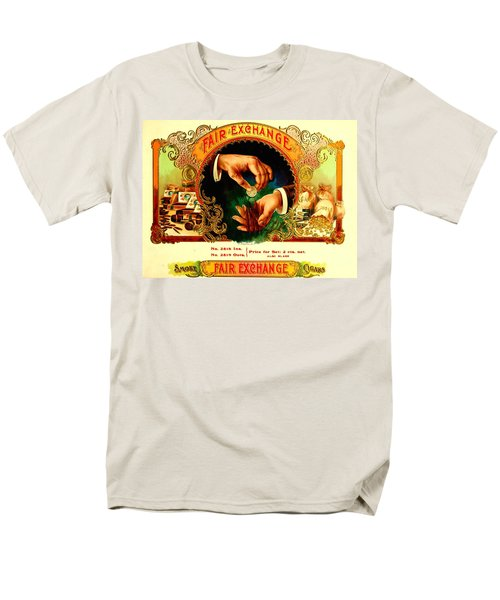 Money Cigar Label Men's T-Shirt  (Regular Fit) by Marianne Dow