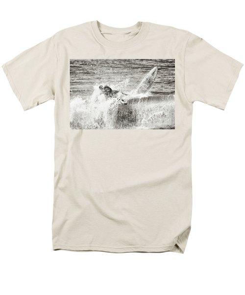 Monochrome Wipeout Men's T-Shirt  (Regular Fit) by Nicholas Burningham