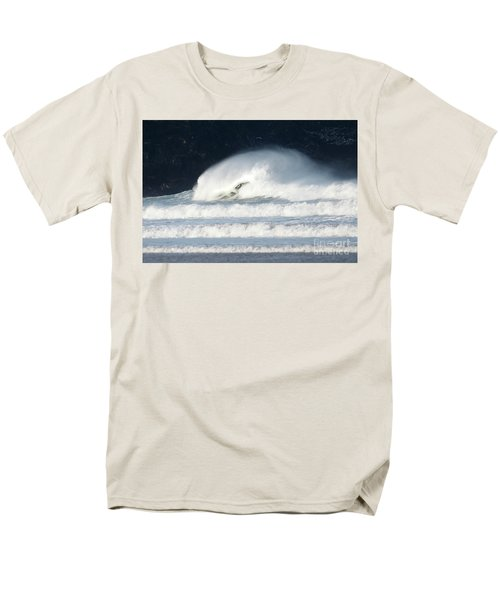 Monster Wave Men's T-Shirt  (Regular Fit) by Nicholas Burningham