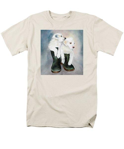 Monti And Gemma Men's T-Shirt  (Regular Fit)