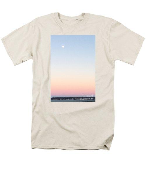 Moon In Twilight Sky Men's T-Shirt  (Regular Fit)