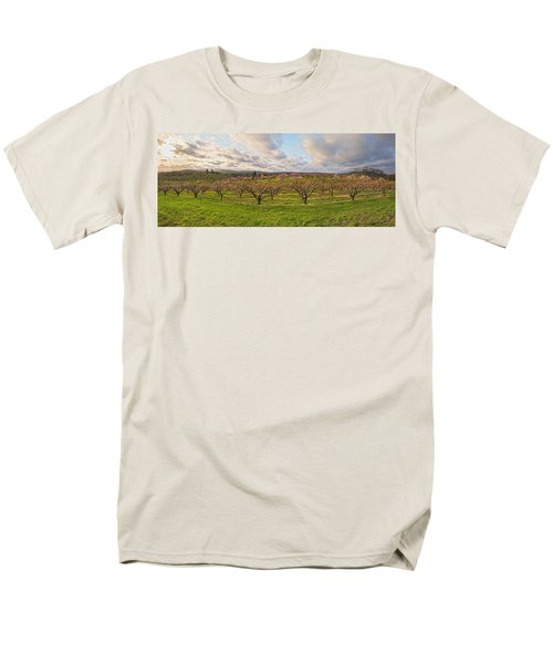 Morning Glory Orchards Men's T-Shirt  (Regular Fit) by Angelo Marcialis