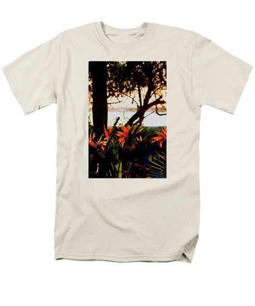 Men's T-Shirt  (Regular Fit) featuring the photograph Morning In Florida by Diane Merkle