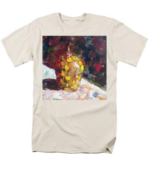Mosaic Apple Men's T-Shirt  (Regular Fit) by Roxy Rich