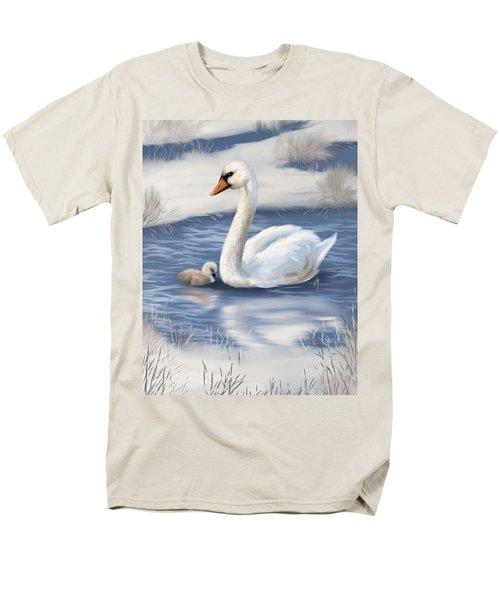 Men's T-Shirt  (Regular Fit) featuring the painting Mother Love by Veronica Minozzi
