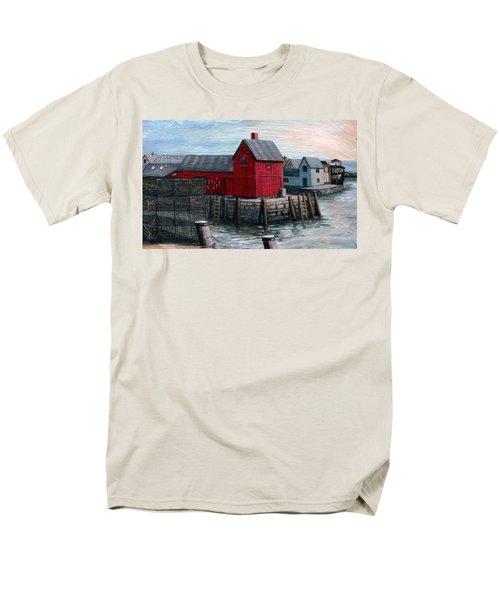 Motif No.1 Men's T-Shirt  (Regular Fit) by Eileen Patten Oliver