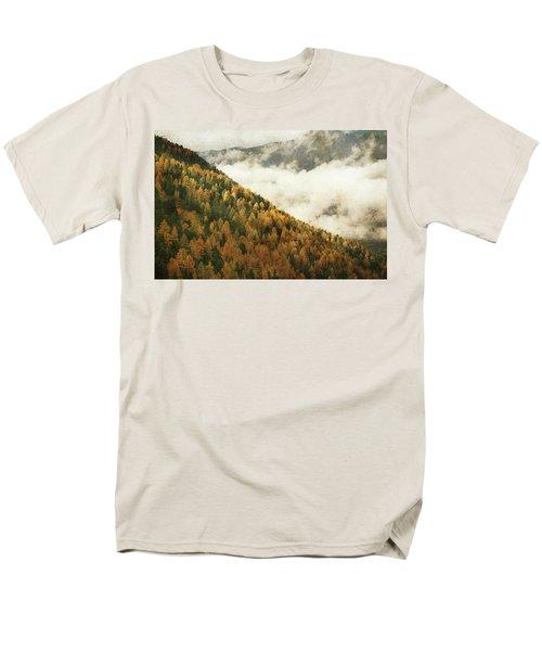 Mountain Landscape Men's T-Shirt  (Regular Fit)