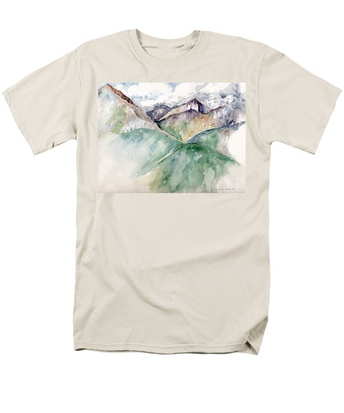 Mountain View Colorado Men's T-Shirt  (Regular Fit) by Catherine Twomey