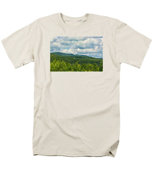 Mountain Vista In Summer Men's T-Shirt  (Regular Fit) by Nancy De Flon