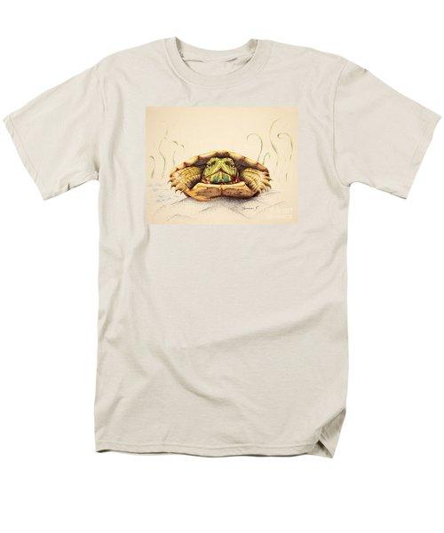 Mr. Flo Men's T-Shirt  (Regular Fit) by Katharina Filus