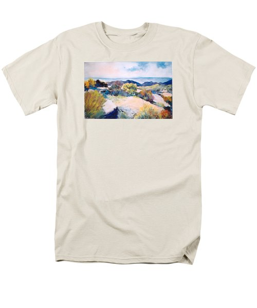 Mt Lemmon View Men's T-Shirt  (Regular Fit) by M Diane Bonaparte
