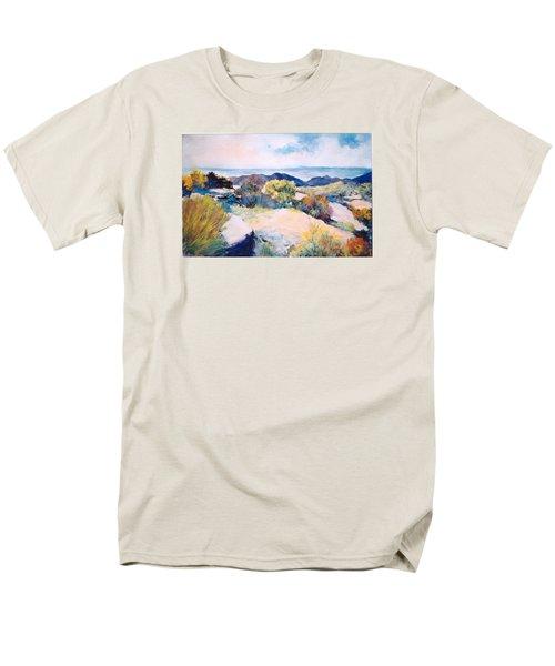 Men's T-Shirt  (Regular Fit) featuring the painting Mt Lemmon View by M Diane Bonaparte