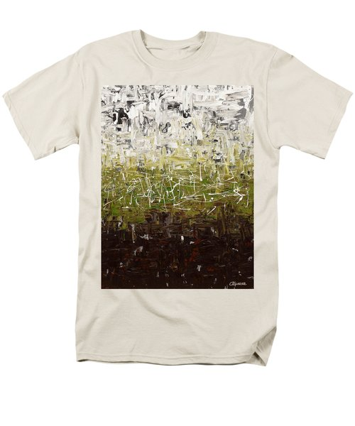 Men's T-Shirt  (Regular Fit) featuring the painting Musing by Carmen Guedez