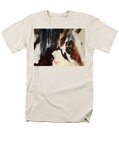 Mustang In My Heart Men's T-Shirt  (Regular Fit) by Barbie Batson