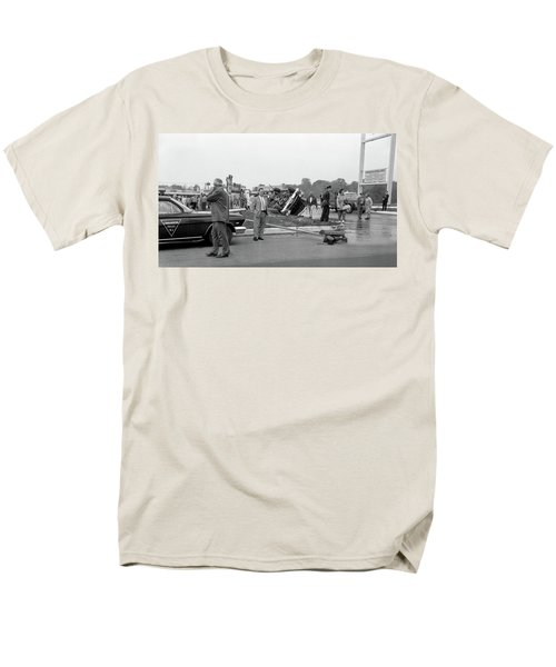 Mva At Shopping Center Men's T-Shirt  (Regular Fit) by Paul Seymour