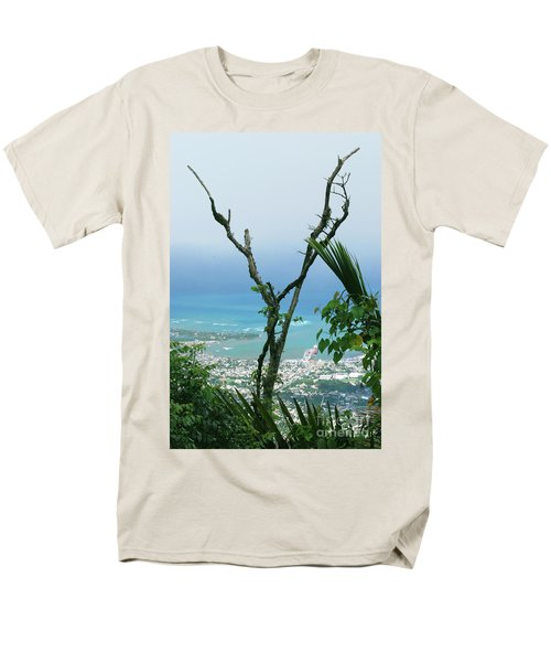My Favorite Wishbone Between A Mountain And The Beach Men's T-Shirt  (Regular Fit) by Heather Kirk