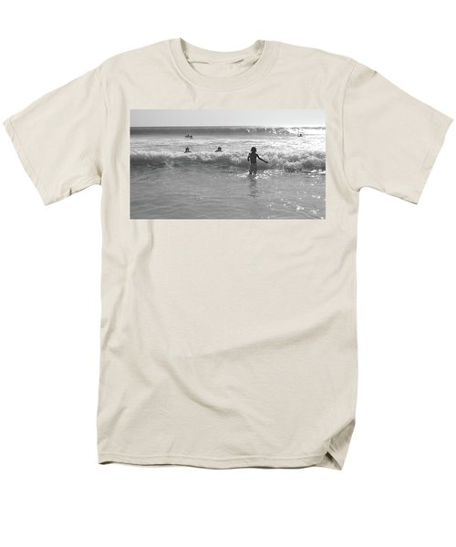 My Fist Time In The Sea Men's T-Shirt  (Regular Fit) by Beto Machado