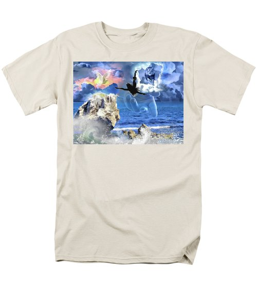 Men's T-Shirt  (Regular Fit) featuring the digital art My Savior by Dolores Develde