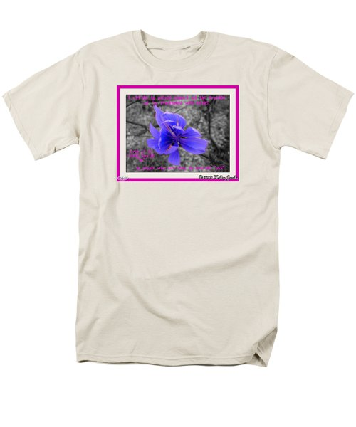 Men's T-Shirt  (Regular Fit) featuring the digital art My Well-being by Holley Jacobs