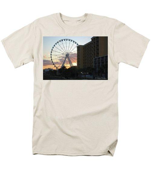 Myrtle Beach Sunset 2 Men's T-Shirt  (Regular Fit) by Gordon Mooneyhan