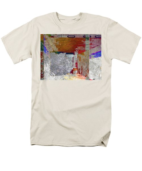 Men's T-Shirt  (Regular Fit) featuring the mixed media Name This Piece by Tony Rubino