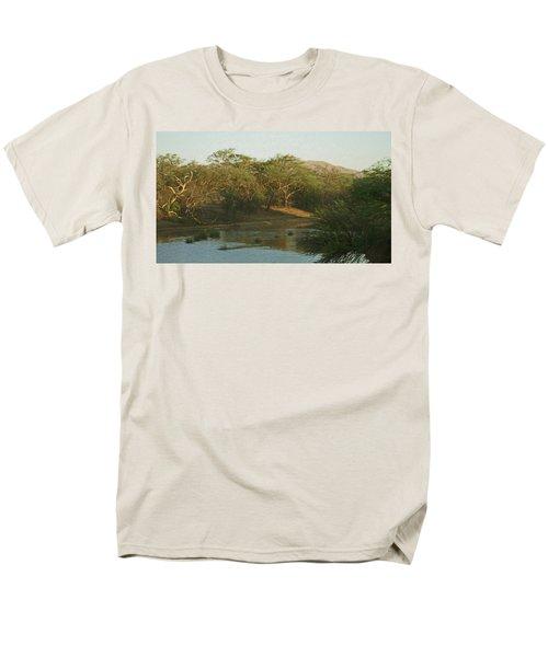 Namibian Waterway Men's T-Shirt  (Regular Fit) by Ernie Echols