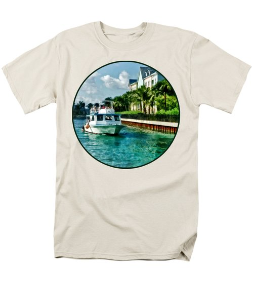 Bahamas - Ferry To Paradise Island Men's T-Shirt  (Regular Fit)